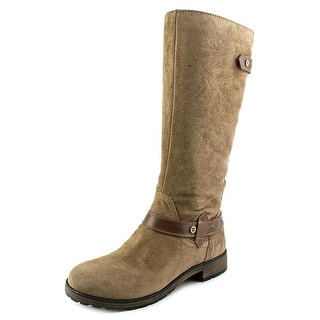 Naturalizer Tanita Women W Round Toe Suede Knee High Boot