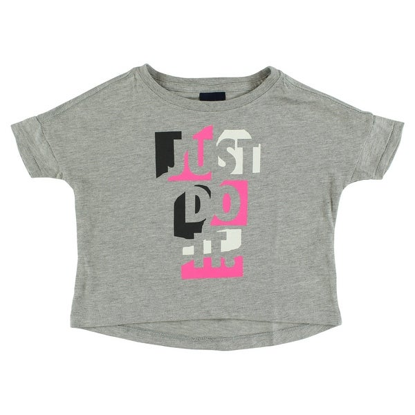 Nike Baby Girl Clothes Fascinating Shop Nike Baby Girls Just Do It Prep T Shirt Heather Grey Heather