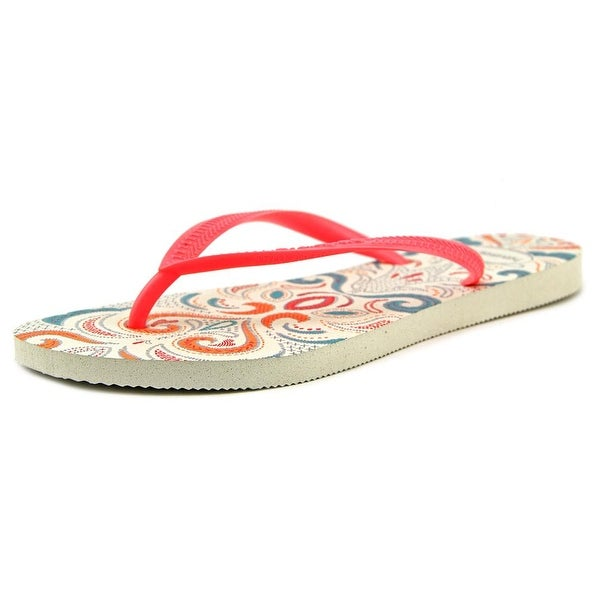 Havaianas Slim Lace Women Open Toe Synthetic Multi Color Flip Flop Sandal