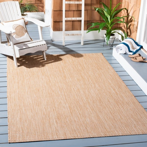 SAFAVIEH Courtyard Jonell Indoor/ Outdoor Patio Backyard Rug. Opens flyout.
