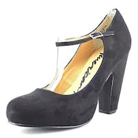 American Rag Womens JESSIE Round Toe Ankle Strap Mary Jane Pumps