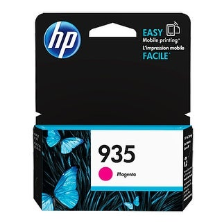 HP 935 Magenta Original Ink Cartridge (C2P21AN) (Single Pack) HP 935 Ink Cartridge - Magenta - Inkjet - 400 Page