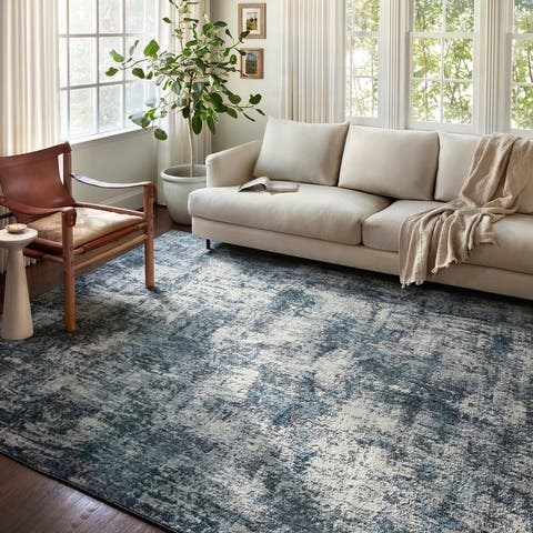 Alexander Home Grant Modern Abstract Area Rug