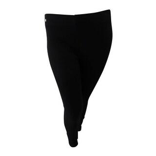 Lauren Ralph Lauren Women's Druelle Ponte Ankle Skinny Pants - polo black