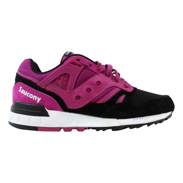c67a31a9 Shop Saucony Grid SD Berry/Black S70224-4 Men's - Ships To Canada ...