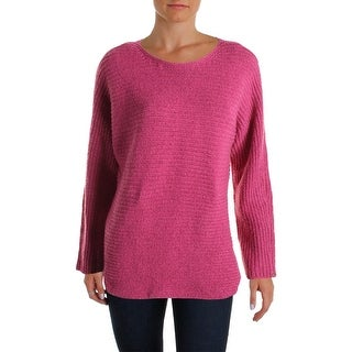 Tommy Hilfiger Womens Knit Metallic Pullover Sweater