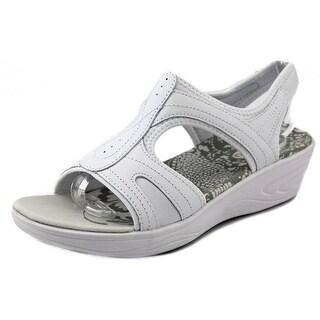 Easy Spirit Manic Women Open Toe Leather Thong Sandal