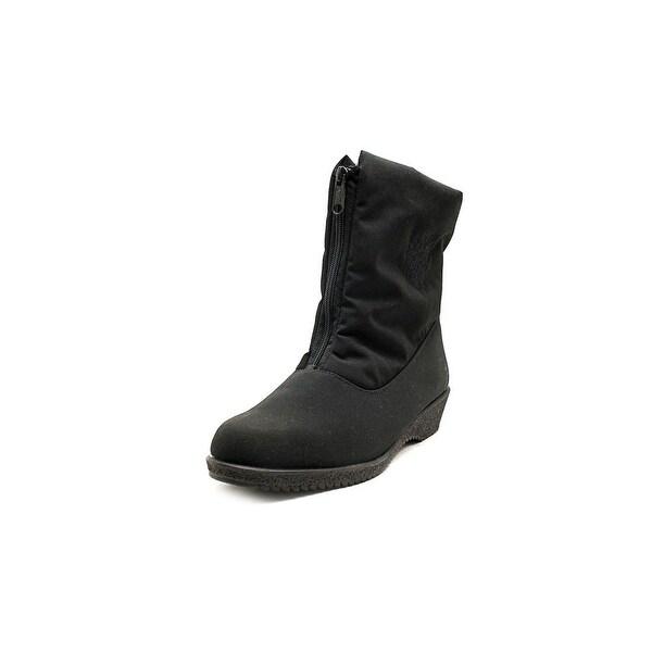 Toe Warmers Jennifer Women D Round Toe Synthetic Black Winter Boot
