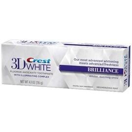 Crest 3D White Brilliance Toothpaste, Mesmerizing Mint 4.1 oz