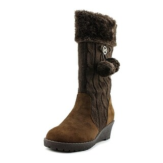 Michael Michael Kors Kendall Update Youth Synthetic Brown Knee High Boot