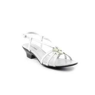 Easy Street Trifecta Open Toe Synthetic Sandals