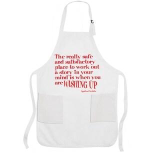 Washing Up Bib - Inspirational Agatha Christie Dish Apron