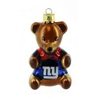 NFL New York Giants Teddy Bear Ornament