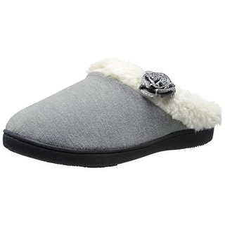 Isotoner Womens Knit Memory Foam Slip-On Slippers