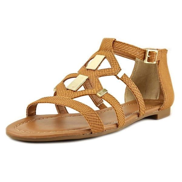 Bar III Rodeo Women Cognac Sandals