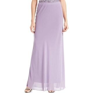 Alex Evenings Womens Maxi Skirt Chiffon Long