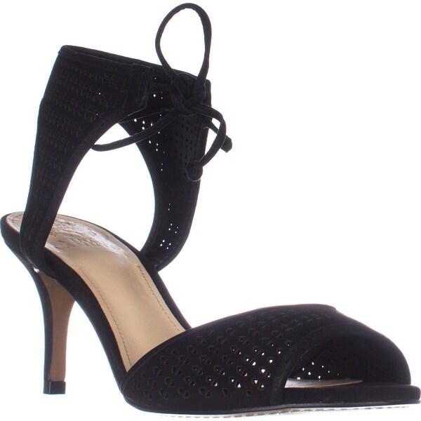 Vince Camuto Kanara Tie Up Dress Sandals, Black