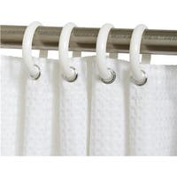 Zenith Prod. Wht Shower Curtain Ring SSR01WW Unit: EACH