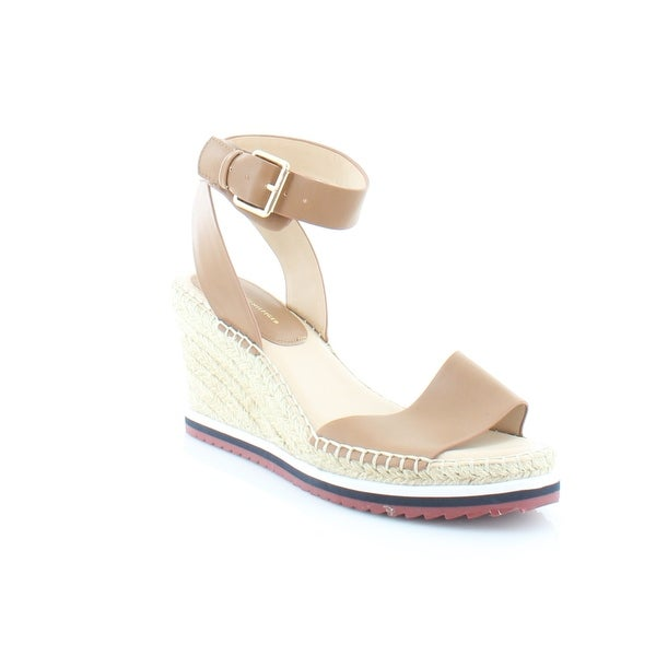 b31a5373c87 Shop Tommy Hilfiger Yaslin Women s Sandals Medium Brown - 10 - Free ...