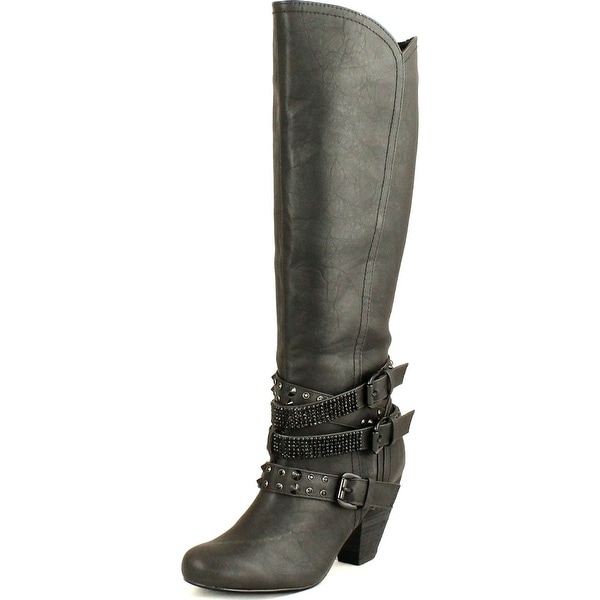 Not Rated Womens Cocktail Queen Riding Boots
