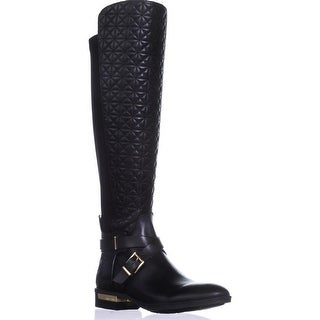 Vince Camuto Patira Wide Calf Over-the-Knee Boots, Black