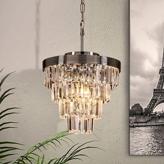 Link to Interior Decor Crystal Teired 3-Lights Chandelier Ceiling Lighting Similar Items in Chandeliers