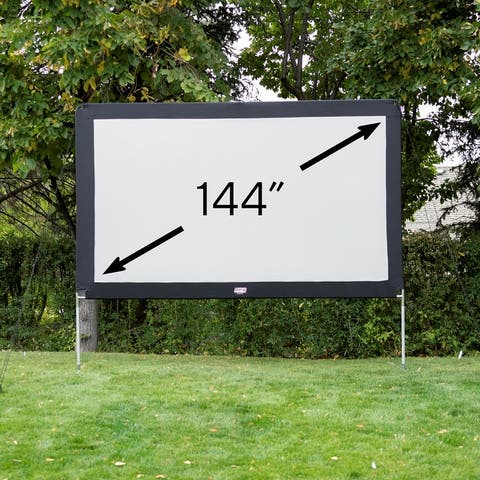 """O.E.G. 144"""" Aluminum Outdoor Projector Screen - 144"""" - OS144A"""