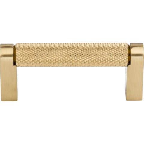 """Top Knobs M2600 Bar Pulls 3"""" Center to Center Handle Cabinet Pull - Honey Bronze"""