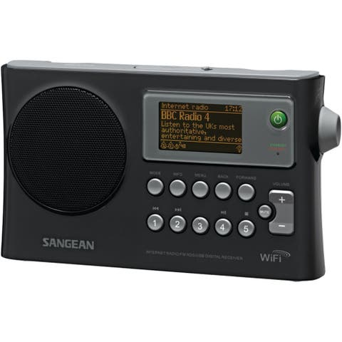Sangean Wi-fi Fm-rds Network Music Player And Usb Portable Radio