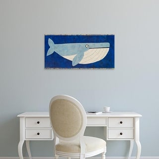 Easy Art Prints Casey Craig's 'Wendell the Whale' Premium Canvas Art