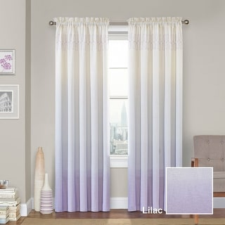 Vue Signature Arashi Ombre Embroidery Curtain Panel