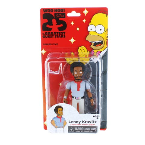 "The Simpsons 25th Anniversary 5"" Series 5 Action Figure: Lenny Kravitz - multi"
