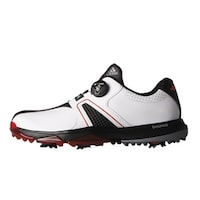 9ea4ac656aba3 Adidas Men s 360 Traxion BOA White Core Black Red Golf Shoes Q44951-Q44955