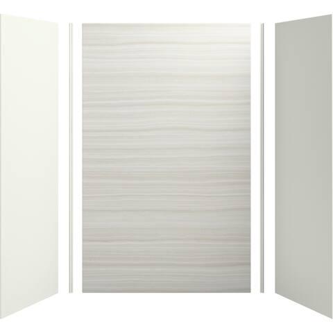 "Kohler K-97615 Choreograph 96"" High x 60"" Wide x 32"" Deep Three Panel Shower Wall Kit"