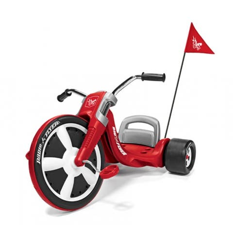 Radio Flyer 474 Big Flyer The Performance Child Toy Trike, For 3-7 Years