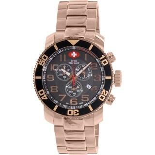 Swiss Precimax Men's Verto Pro SP13040 Rose-Gold Stainless-Steel Sport Watch