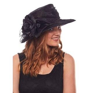 Summer Breeze Organza Dress Hat