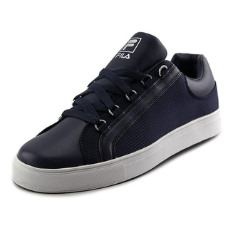 Fila Oxidize Low Men Round Toe Leather Blue Sneakers