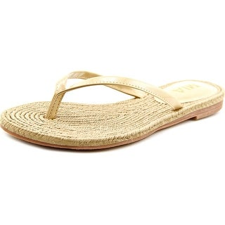 Mia Nazar Open Toe Synthetic Thong Sandal