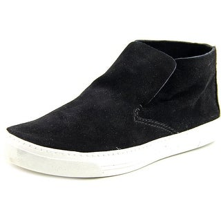 Dolce Vita Xandie Women Suede Black Fashion Sneakers