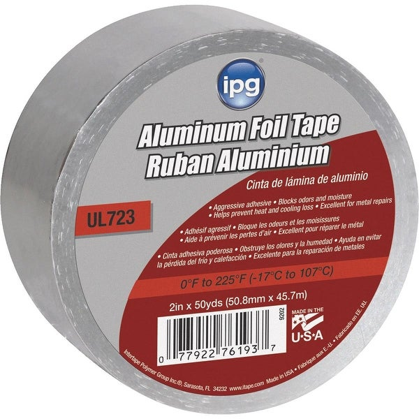 "Intertape 2""X50Yd Alum Foil Tape"