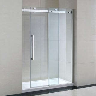 "Miseno MSDC6082NB 81-1/2"" High x 60"" Wide Frameless Shower Door for Alcove Insta"