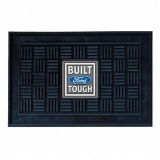 Fan Mats JRFAN-15955 Ford Built Tough Vinyl Doormat 19 x 30