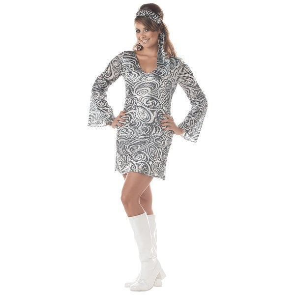 Shop Plus Size Disco Diva Dress - 3X - Free Shipping On Orders Over  45 -  Overstock - 14280169 4c8e9f5751b4