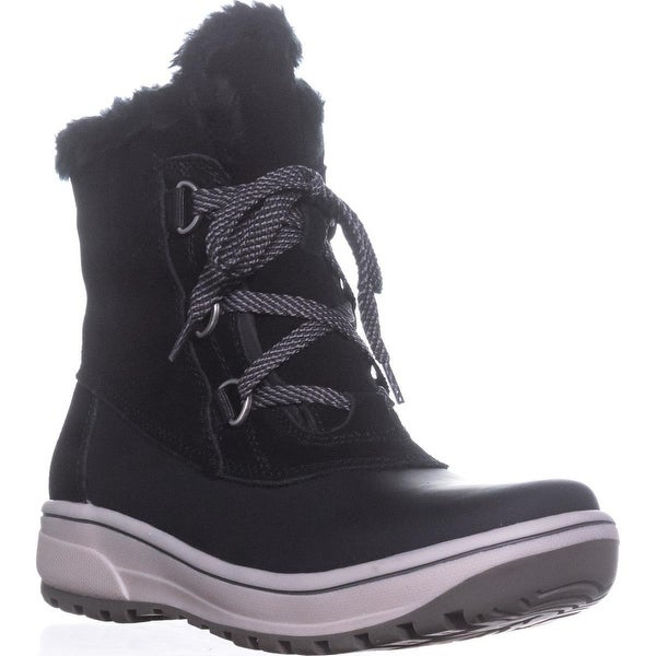 BareTraps Denyce Snow Boots, Dark Grey, 10 US, Black - 7 us