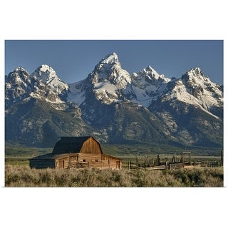 """Grand Tetons National Park"" Poster Print"