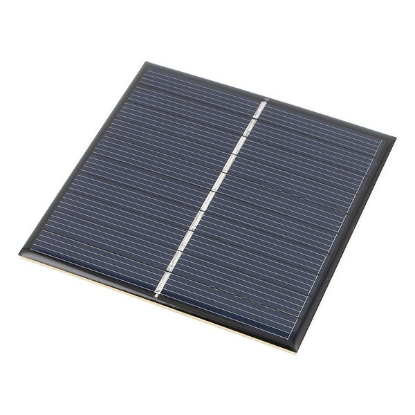 5V 0.87W DIY Polycrystallinesilicon Solar Panel Power Battery Charger 84mmx84mm