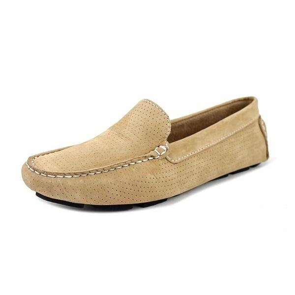 1e7a005c723 Shop Mercanti Fiorentini Nubuck Loafer Women Moc Toe Suede Nude ...