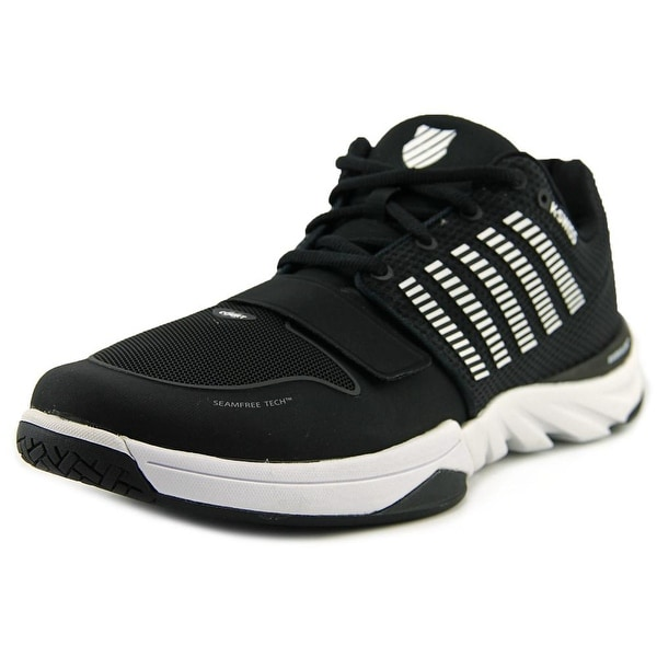 K-Swiss X Court Men Black/White Tennis Shoes