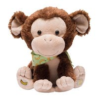 Cuddle Barn My Monkey Marvin Animated Plush Toy - Singing Playing Stuffed Animal